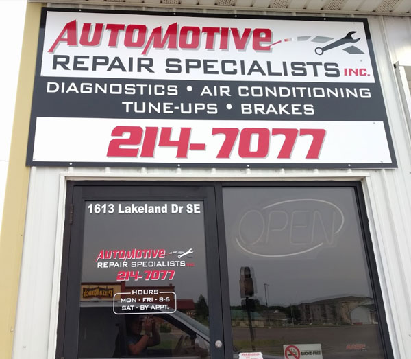 Automotive Repair Specialists | 320-214-7077 | Willmar, MN 56201